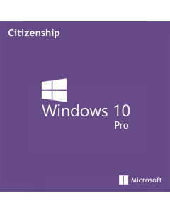 Refurbished Microsoft Windows 10 Pro Citizenship (TPR with Own Brand Licence)